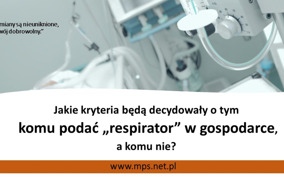 """Komupodać """"gospodarczy respirator""""?"""